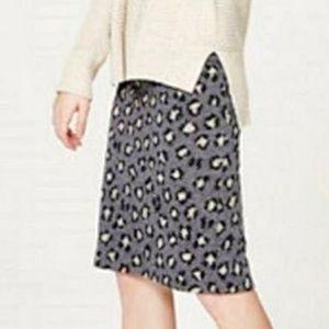 LOFT Skirts - Loft Cheetah Print Skirt